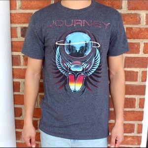 Live Nation   Gray Classic Journey Band Tee Shirt